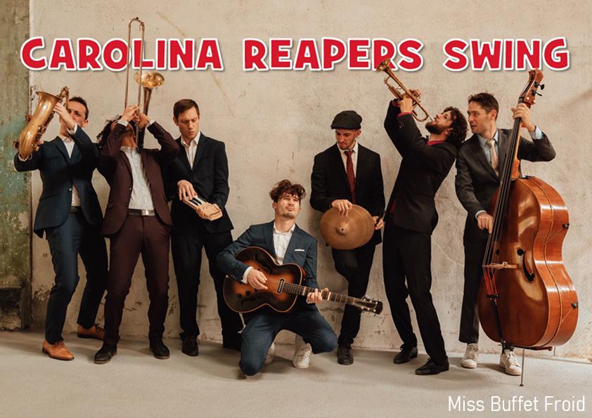 Carolina Reapers Swing
